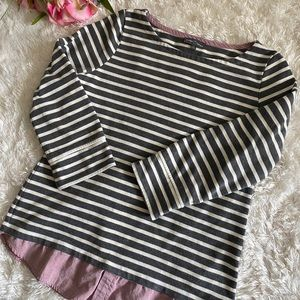 Market and spruce Striped Long sleeve Tee